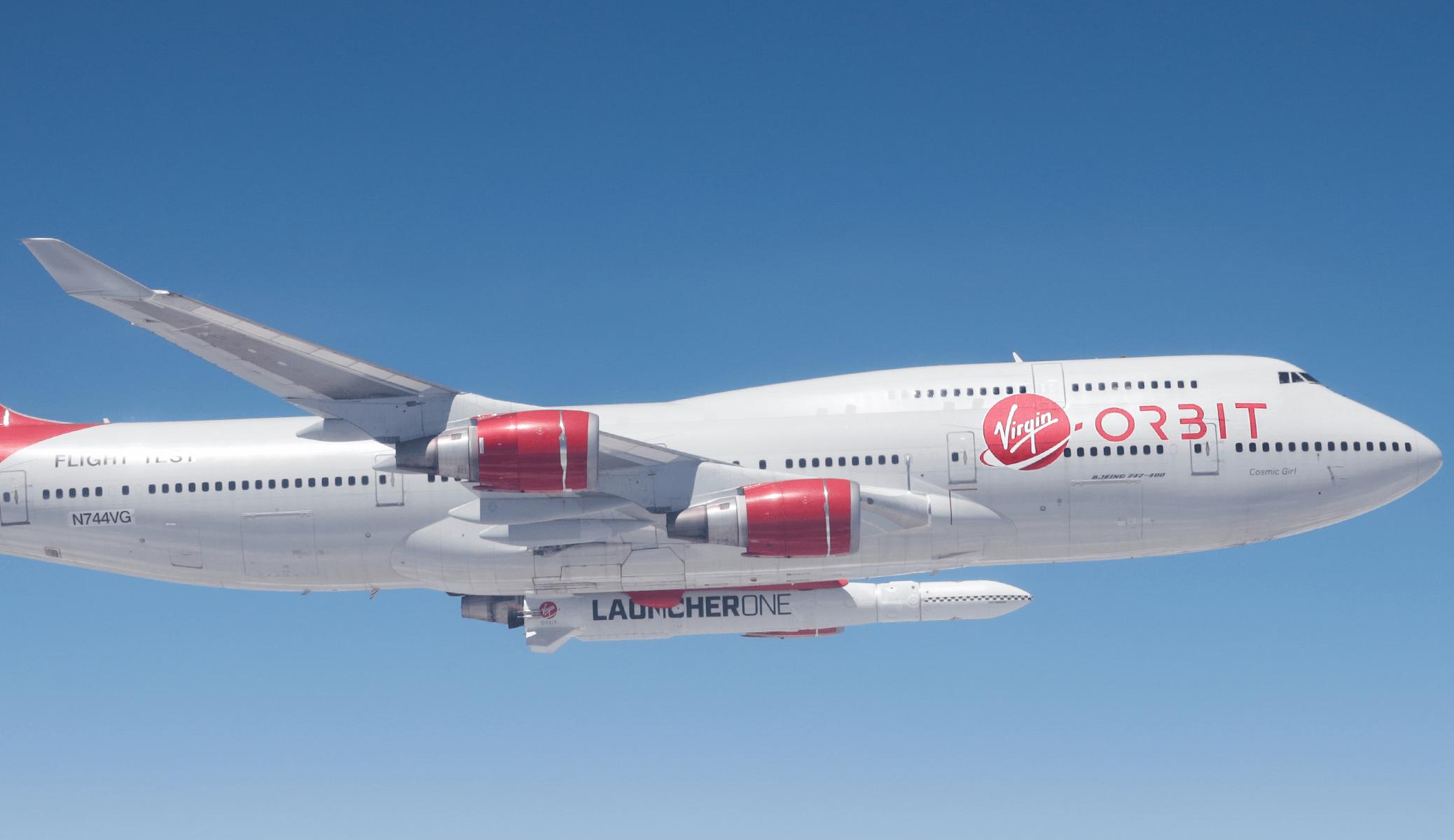 Virgin Orbit chegará à Bolsa