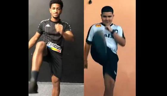 Gordin do Tiktok viraliza e se torna ícone do Botafogo no fim de semana